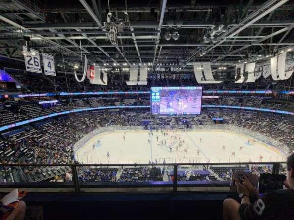 Amalie Arena, section: 317, row: B, seat: 6