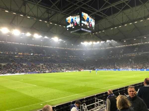 Veltins-Arena, section: U, row: 6, seat: 7