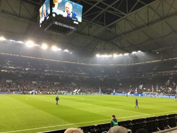 Veltins-Arena, section: R, row: 3, seat: 7