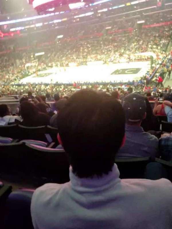 Staples Center, section: PR12, row: 7, seat: 6