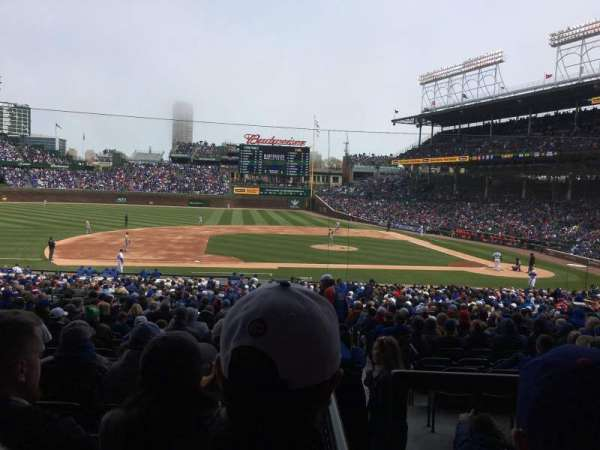 Wrigley Field, section: 212, row: 5, seat: 9