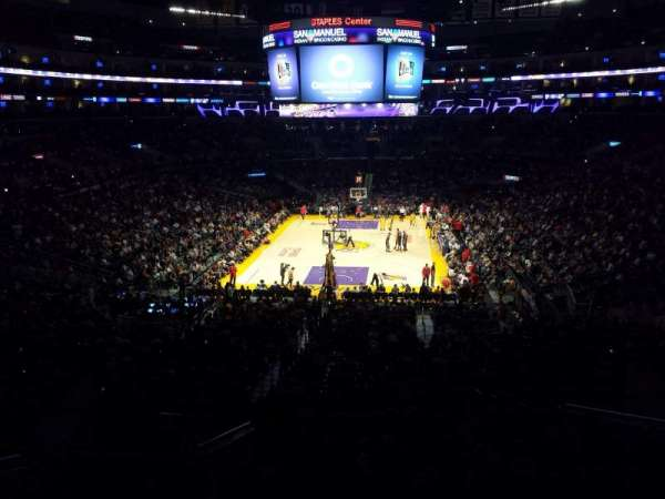 Staples Center, section: Suite A27, row: 1, seat: 1
