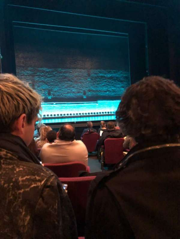 Broadhurst Theatre, section: Orchestra L, row: J, seat: 3