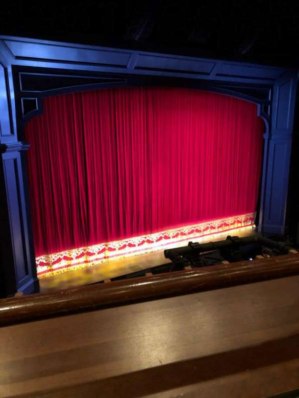 Stephen Sondheim Theatre, section: Mezzanine L, row: AA, seat: 3