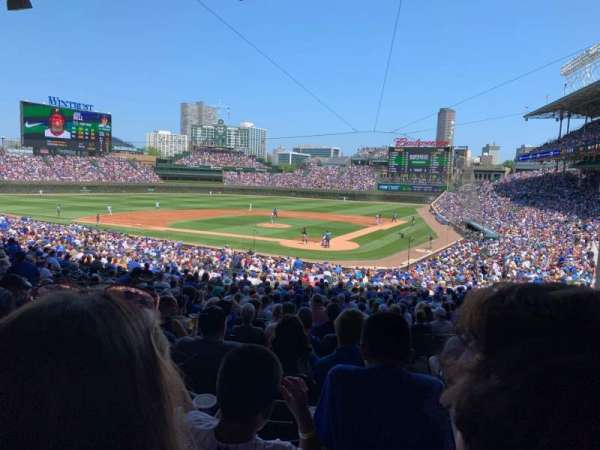 Wrigley Field, section: 215, row: 9, seat: 23