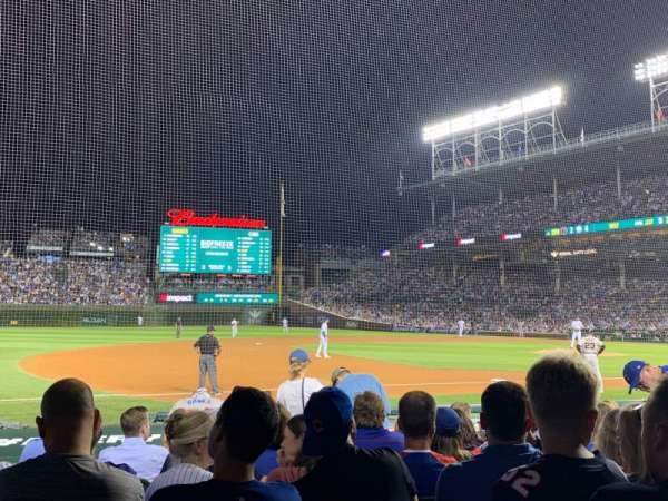 Wrigley Field, section: 10, row: 12, seat: 3
