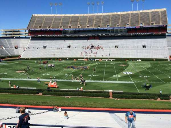 Jordan-Hare Stadium, section: 30, row: 32, seat: 5