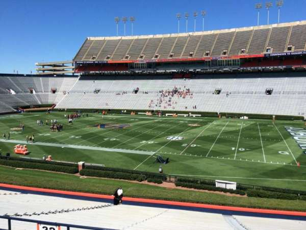 Jordan-Hare Stadium, section: 32, row: 32, seat: 5