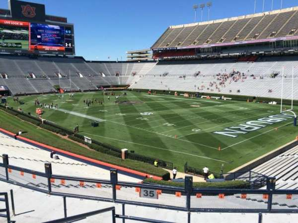 Jordan-Hare Stadium, section: 35, row: 34, seat: 6