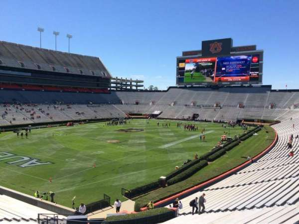 Jordan-Hare Stadium, section: 45, row: 34, seat: 5