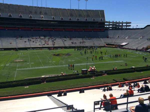 Jordan-Hare Stadium, section: 4, row: 34, seat: 5