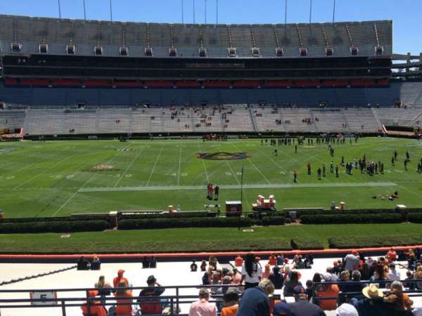 Jordan-Hare Stadium, section: 5, row: 37, seat: 5