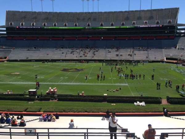 Jordan-Hare Stadium, section: 7, row: 37, seat: 5