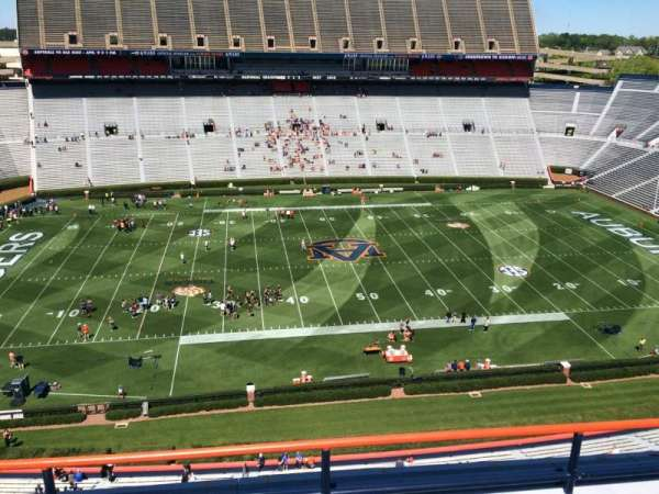 Jordan-Hare Stadium, section: 105, row: 5, seat: 7