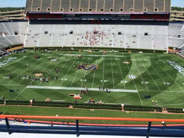 Jordan-Hare Stadium, section: 107, row: 5, seat: 7