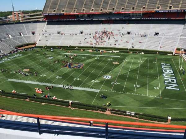 Jordan-Hare Stadium, section: 110, row: 5, seat: 7