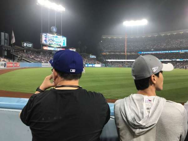 Dodger Stadium, section: 49FD, row: A, seat: 13