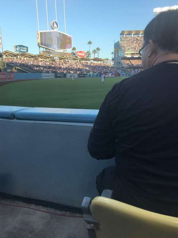 Dodger Stadium, section: 49, row: A, seat: 14