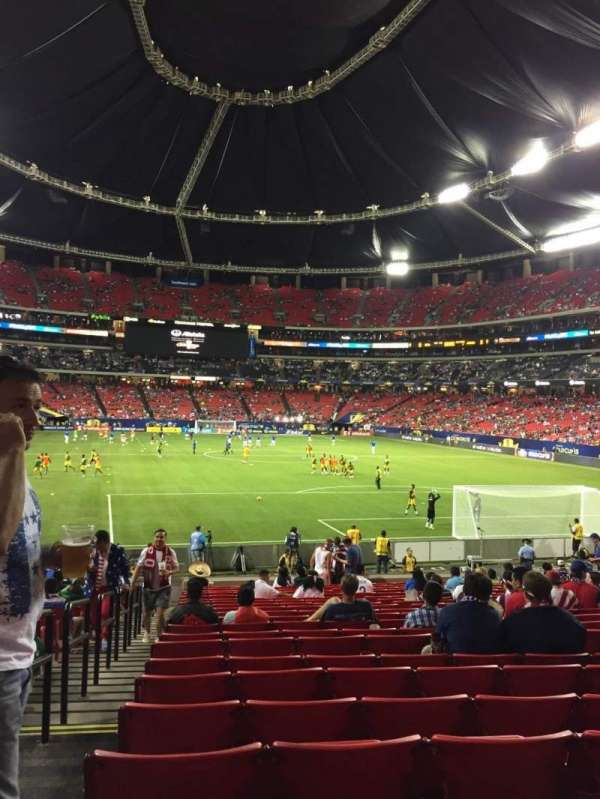 Georgia Dome, section: 107, row: 21, seat: 1