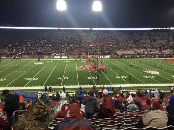 Martin Stadium, section: 6, row: 20, seat: 23