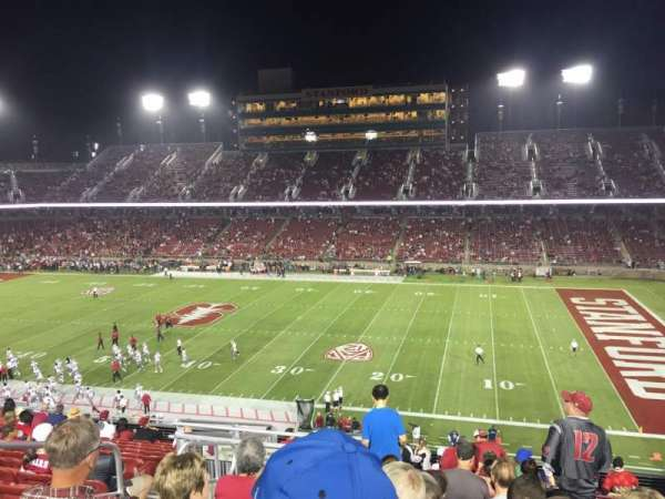 Stanford Stadium, section: 230