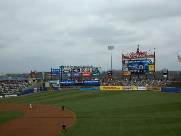 Coca-Cola Park, section: 201, row: E, seat: 19