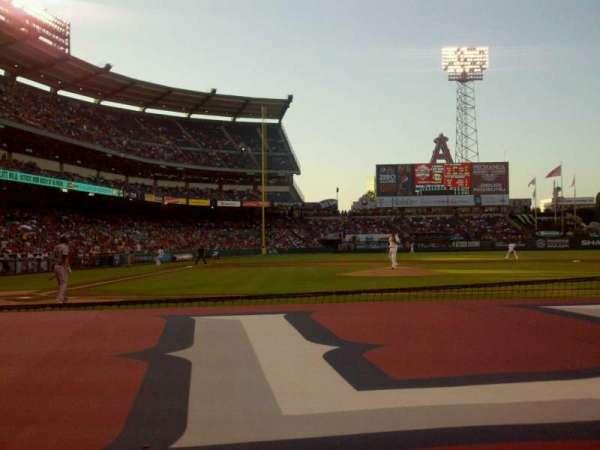 Angel Stadium, section: F123, row: C, seat: 7