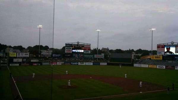 McCoy Stadium, section: 5, row: GG, seat: 3