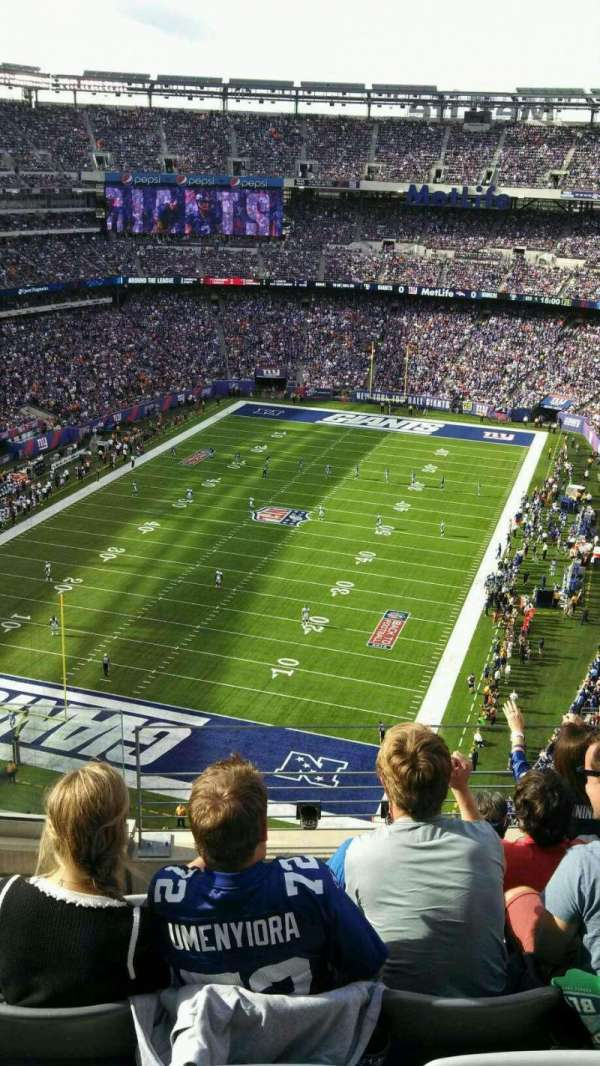 MetLife Stadium, section: 323, row: 10, seat: 17