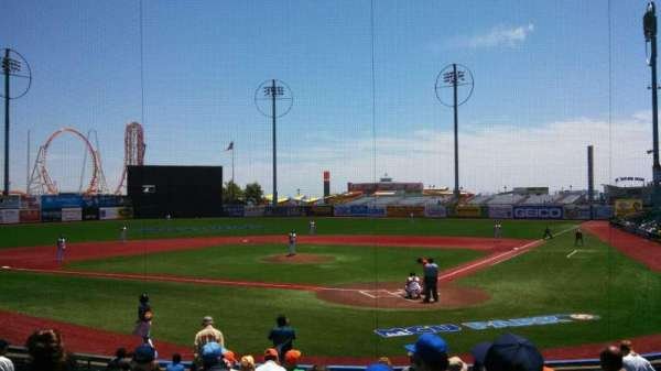 MCU Park, section: 3, row: P, seat: 10