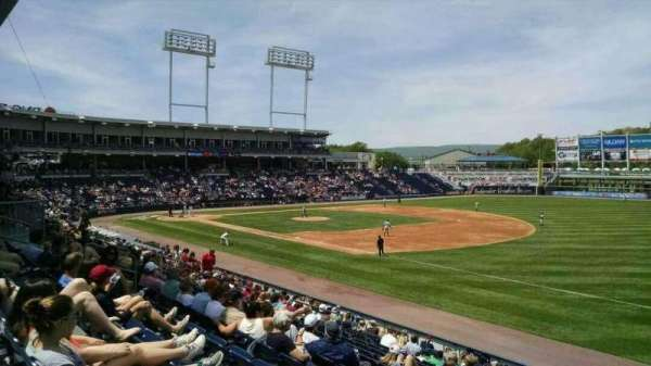 PNC Field, section: 12, row: 17, seat: 16