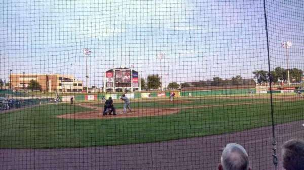 Dickey-Stephens Park, section: 108, row: C, seat: 10