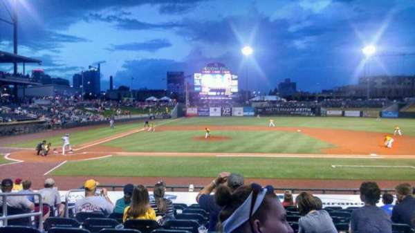 Regions Field, section: 112, row: Q, seat: 5