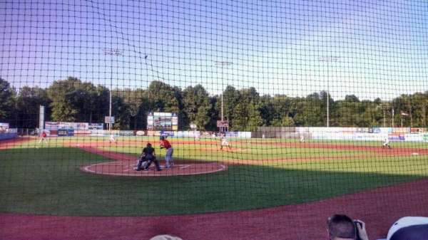 Dutchess Stadium, section: 105, row: C, seat: 3