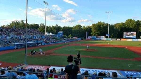 Dutchess Stadium, section: 304, row: AA, seat: 14