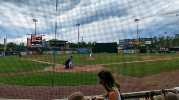 Palisades Credit Union Park, section: 108, row: G, seat: 13