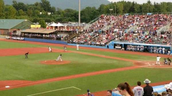 Dutchess Stadium, section: 3rd Base line GA, row: 8, seat: 20
