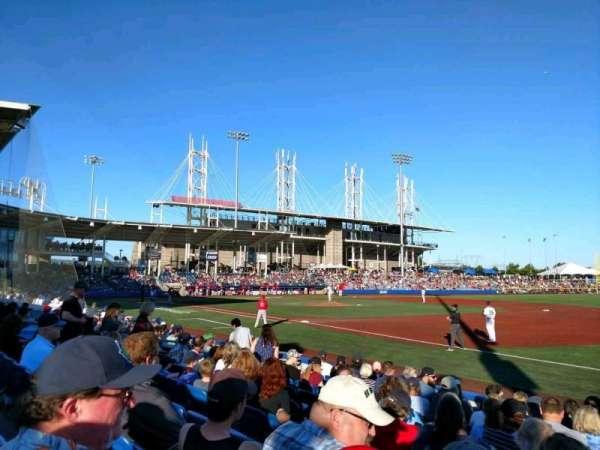 Ron Tonkin Field, section: 3, row: K, seat: 1