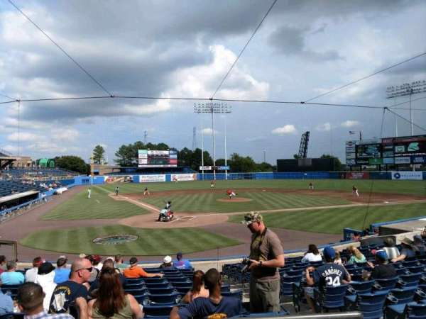 Harbor Park, section: 202, row: N, seat: 16