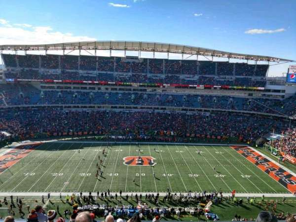 Paul Brown Stadium, section: 340, row: 8, seat: 16