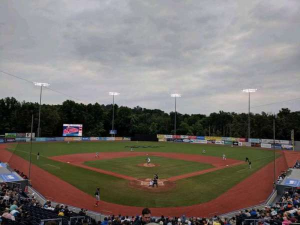 Dutchess Stadium, section: 204, row: KK, seat: 15