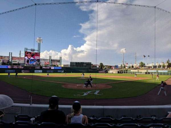 Greater Nevada Field, section: 109, row: 11, seat: 5