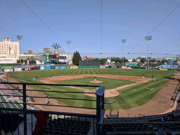 Chukchansi Park, section: 214, row: 2, seat: 9