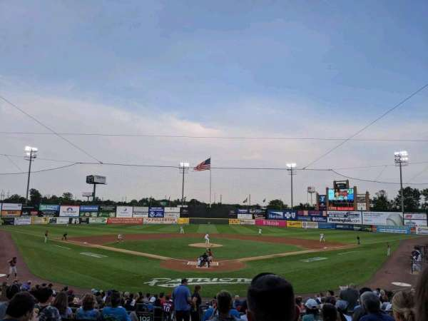 TD Bank Ballpark, section: 201, row: S, seat: 16