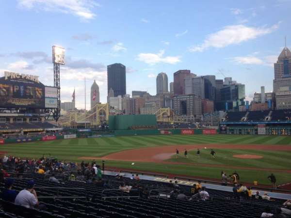 PNC Park, section: 120, row: U, seat: 1