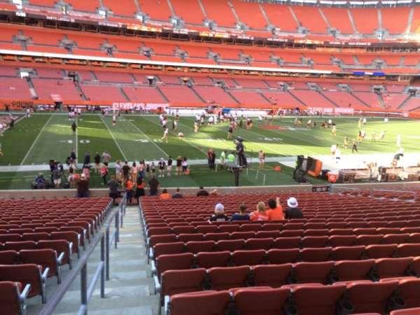 FirstEnergy Stadium, section: 106, row: 22, seat: 1