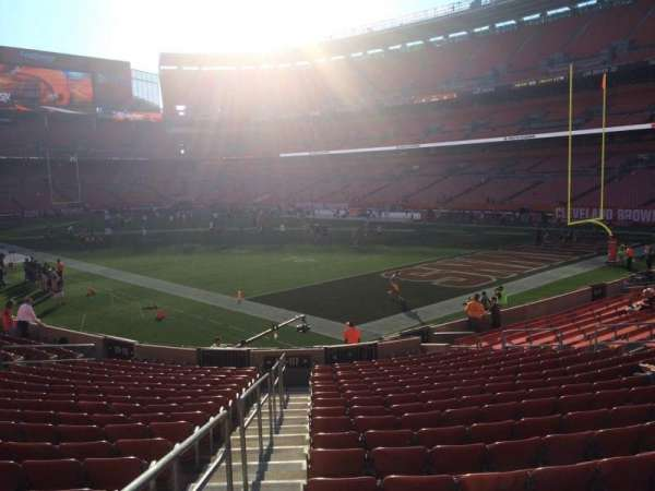 FirstEnergy Stadium, section: 117, row: 18, seat: 1