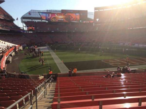 FirstEnergy Stadium, section: 118, row: 18, seat: 1