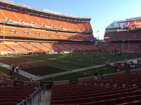 FirstEnergy Stadium, section: 127, row: 18, seat: 1