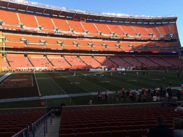 FirstEnergy Stadium, section: 130, row: 18, seat: 1